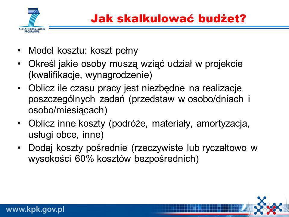 Jak skalkulować budżet