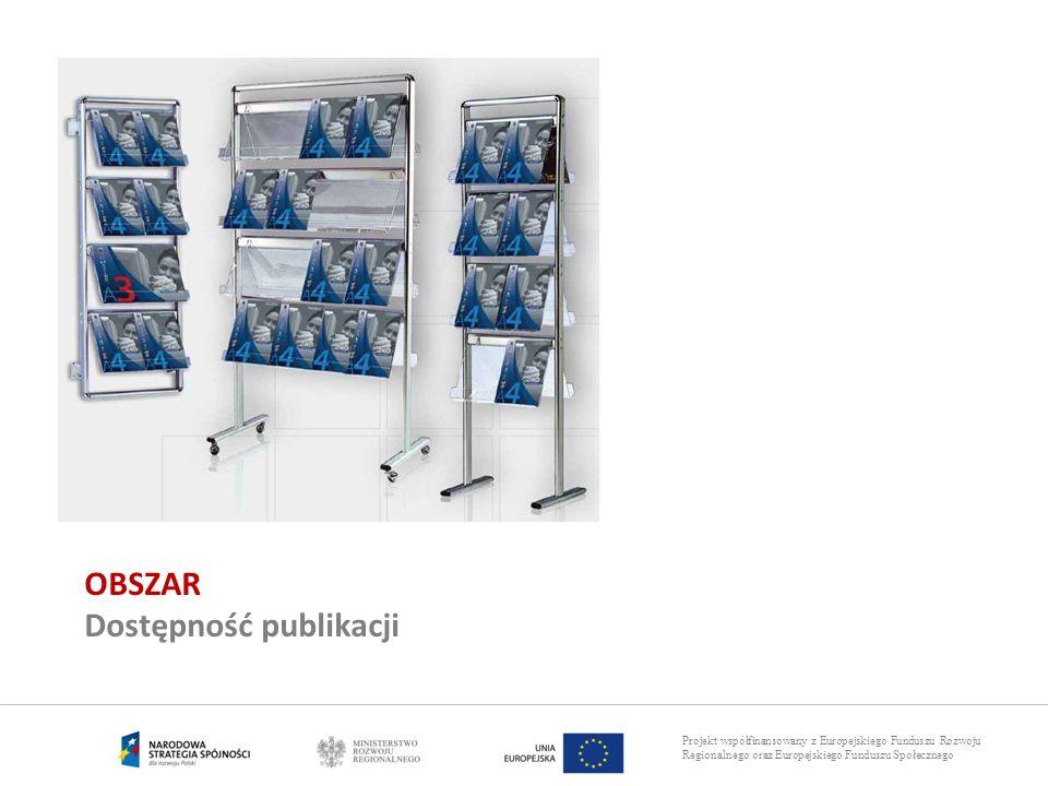 OBSZAR Dostępność publikacji