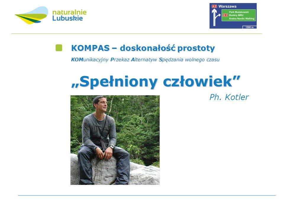 """""""Spełniony człowiek KOMPAS – doskonałość prostoty Ph. Kotler"""