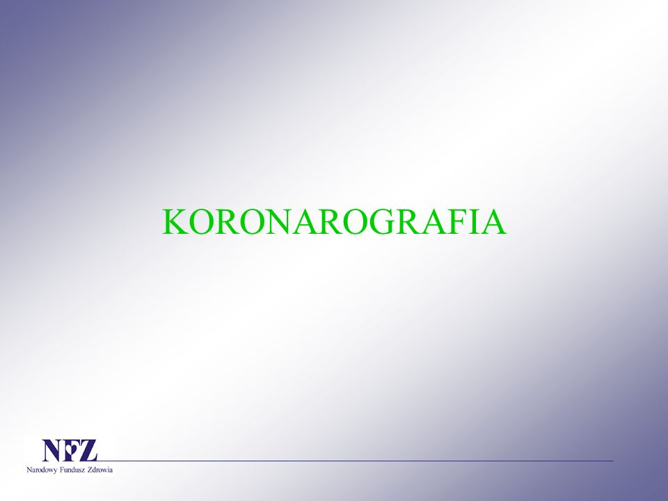 KORONAROGRAFIA