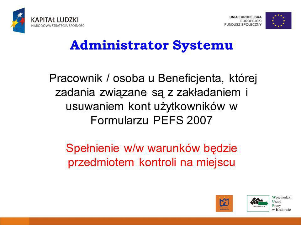 Administrator Systemu