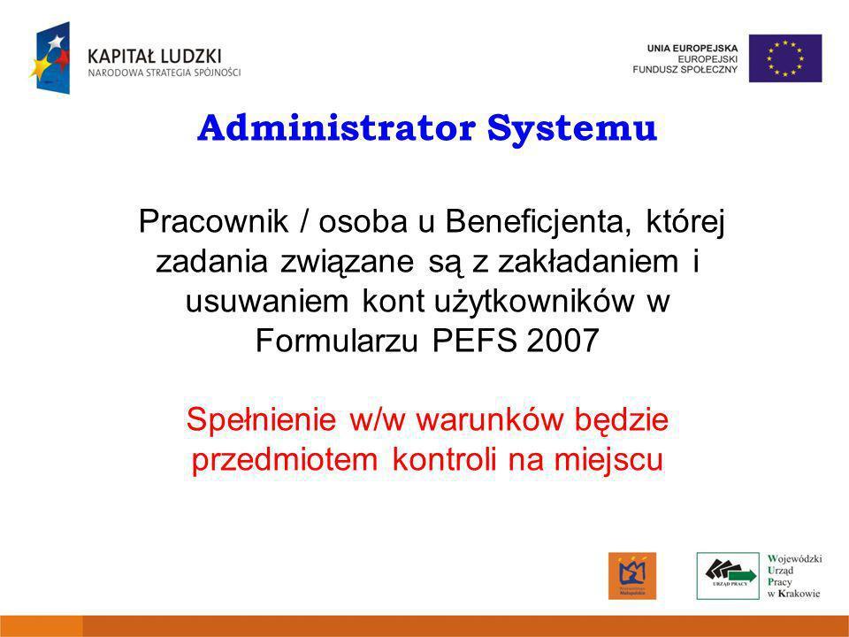Administrator Systemu