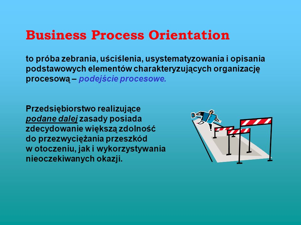Business Process Orientation