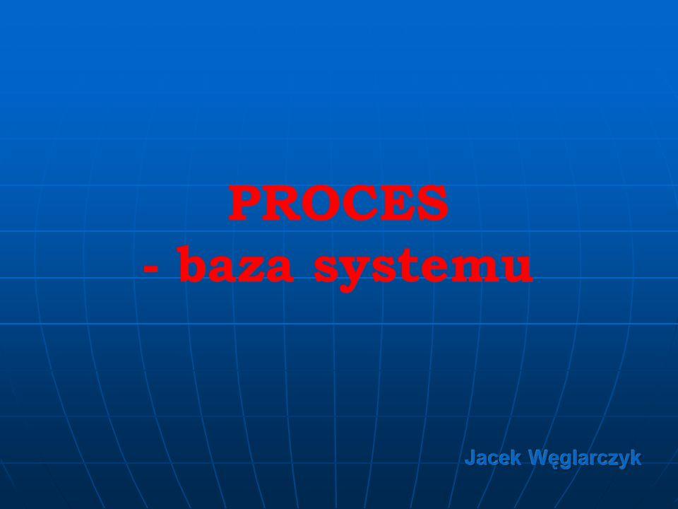 PROCES - baza systemu Jacek Węglarczyk
