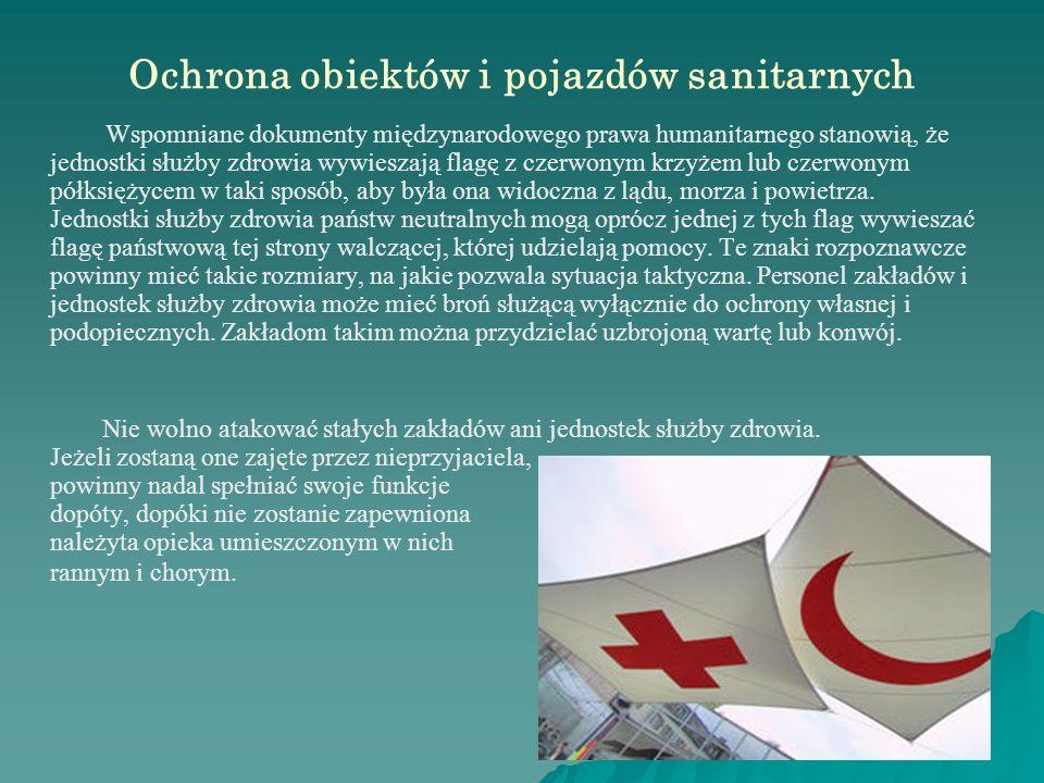 Ochrona obiektów i pojazdów sanitarnych