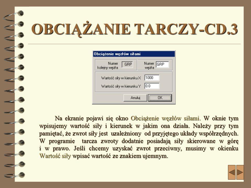 OBCIĄŻANIE TARCZY-CD.3