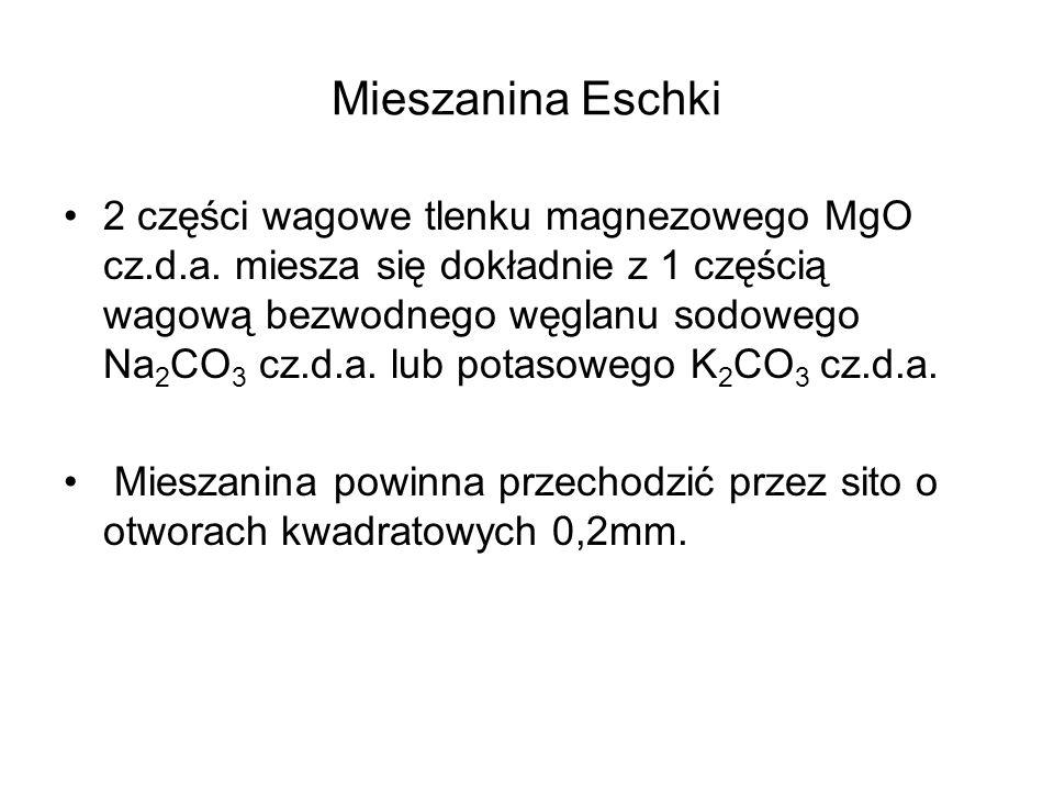 Mieszanina Eschki
