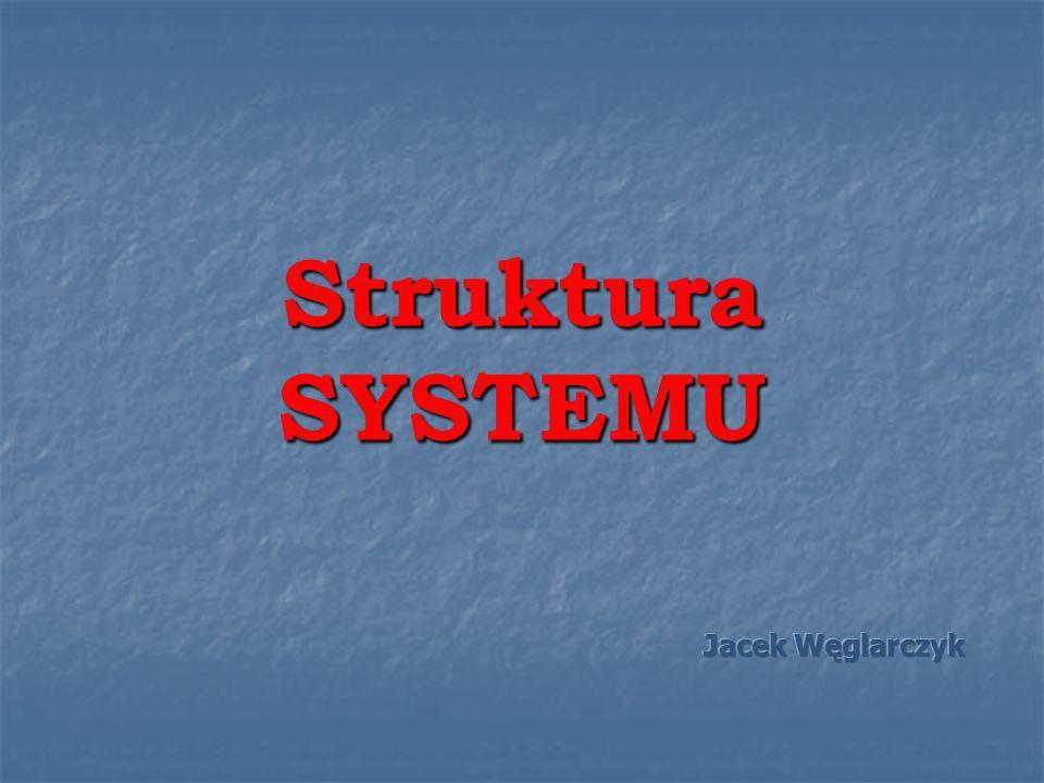 Struktura SYSTEMU Jacek Węglarczyk