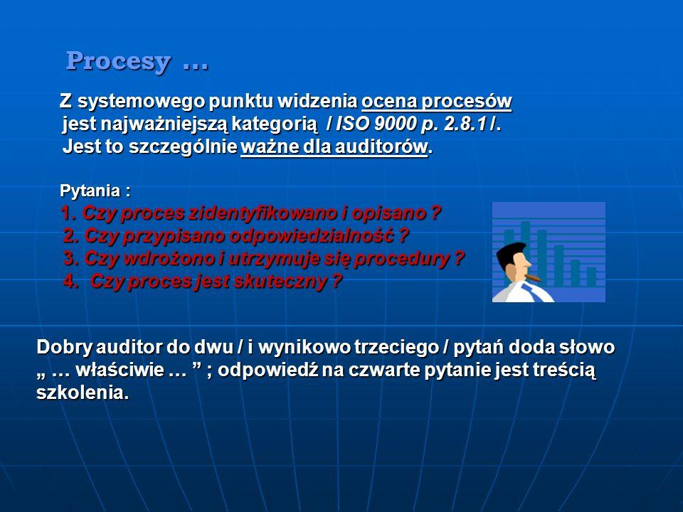 jest najważniejszą kategorią / ISO 9000 p. 2.8.1 /.