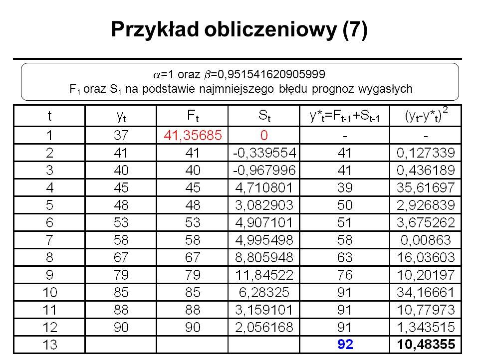 Przykład obliczeniowy (7)