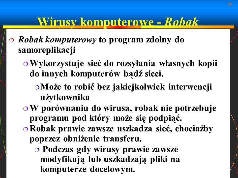 Wirusy komputerowe - Robak