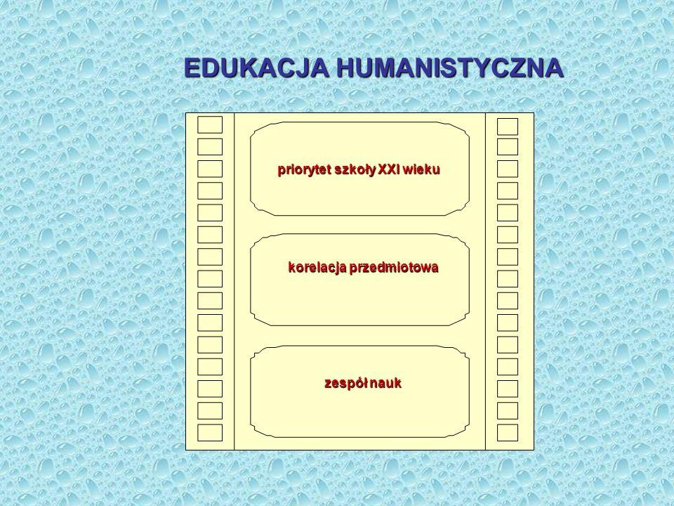 EDUKACJA HUMANISTYCZNA