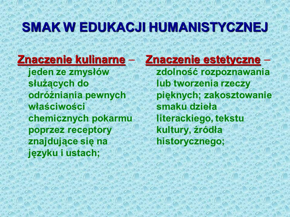 SMAK W EDUKACJI HUMANISTYCZNEJ