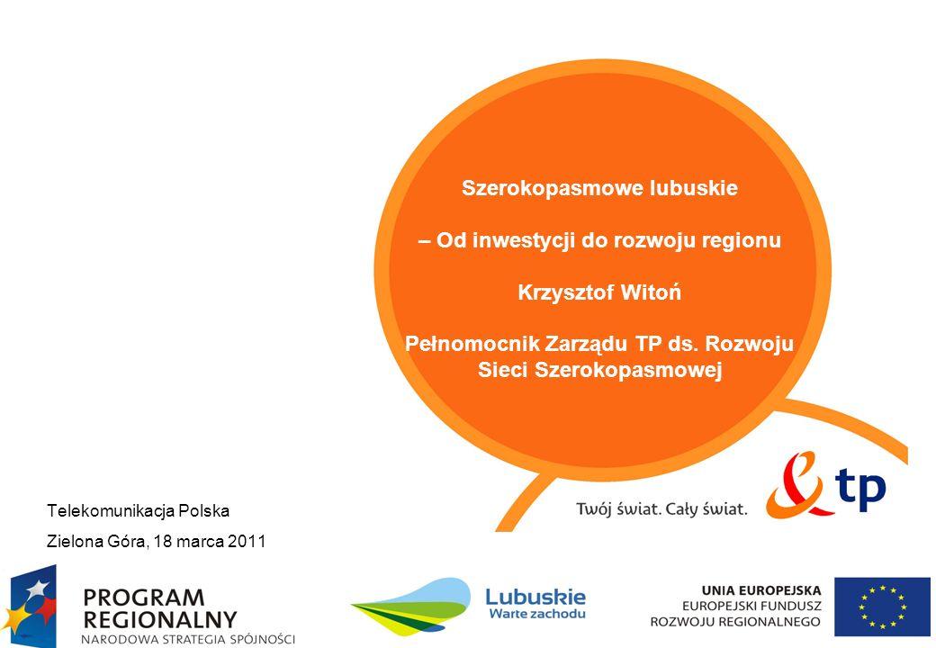 Telekomunikacja Polska Zielona Góra, 18 marca 2011