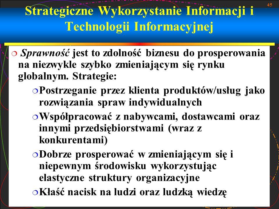Strategiczne Wykorzystanie Informacji i Technologii Informacyjnej