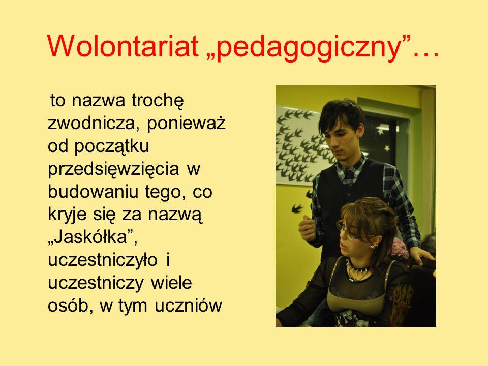 "Wolontariat ""pedagogiczny …"
