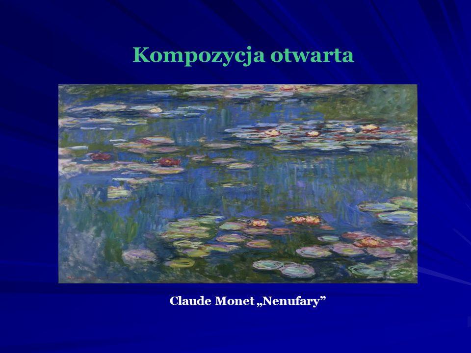 "Kompozycja otwarta Claude Monet ""Nenufary"