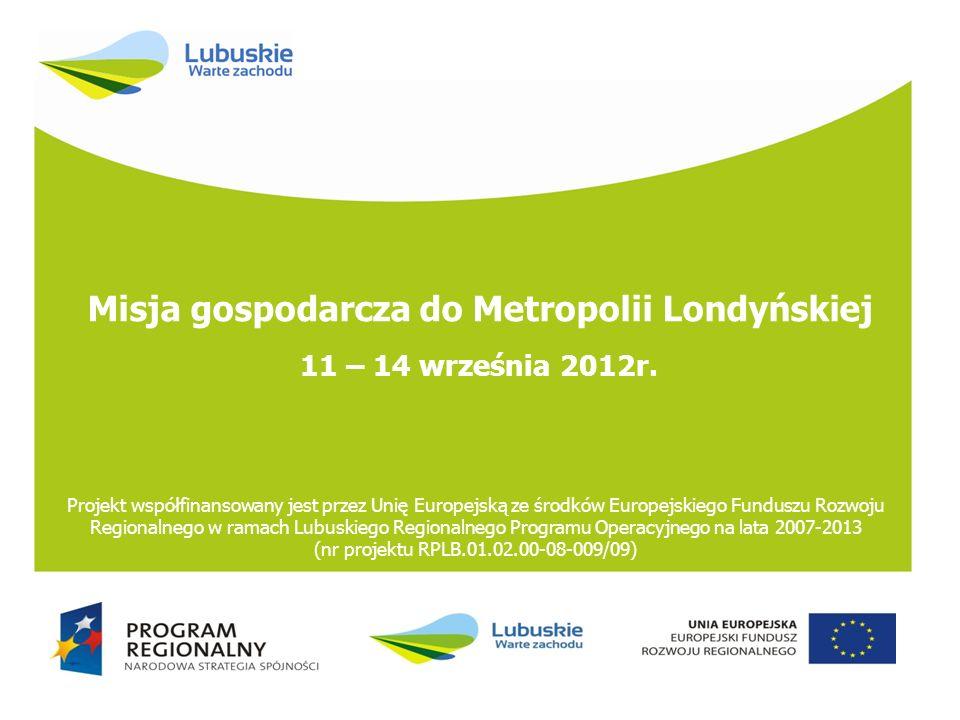Misja gospodarcza do Metropolii Londyńskiej