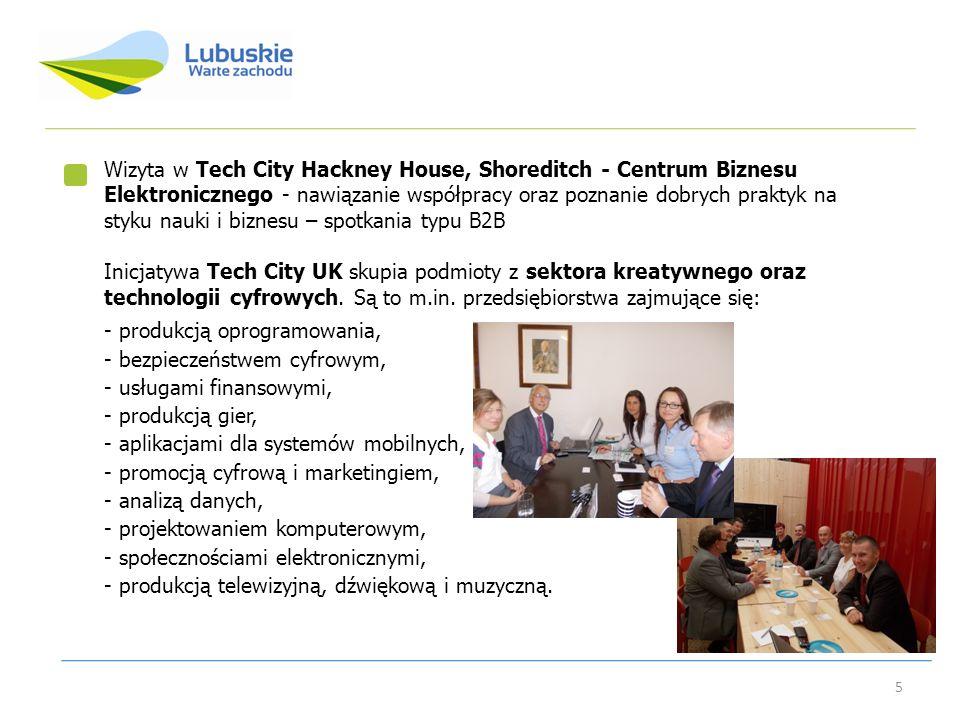 Wizyta w Tech City Hackney House, Shoreditch - Centrum Biznesu Elektronicznego - nawiązanie współpracy oraz poznanie dobrych praktyk na styku nauki i biznesu – spotkania typu B2B