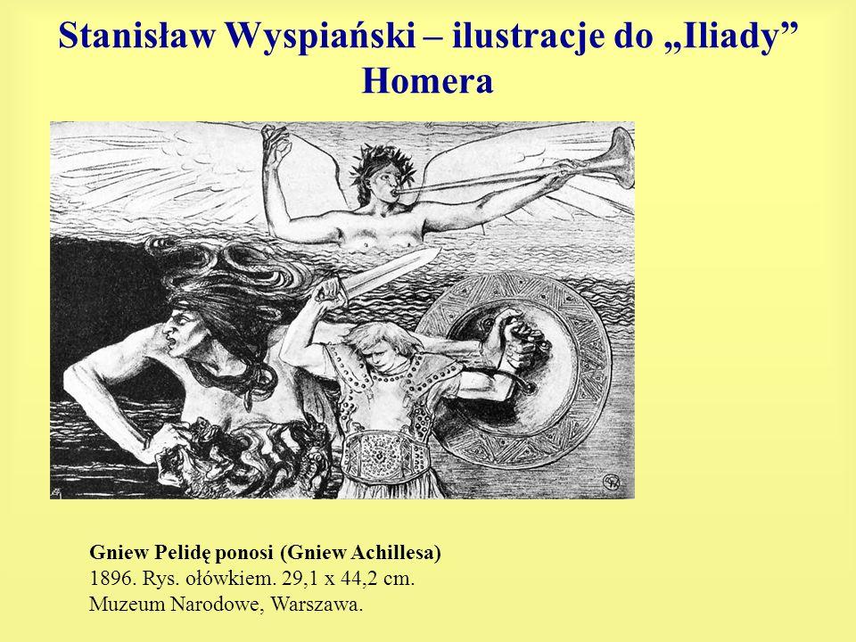 """Stanisław Wyspiański – ilustracje do """"Iliady Homera"""
