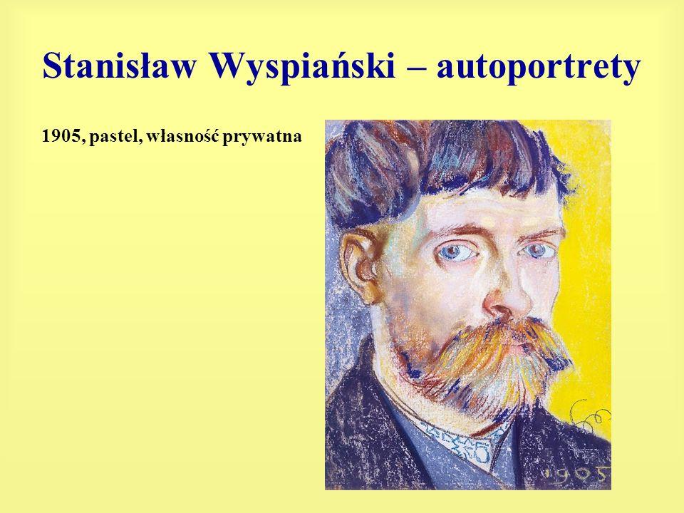 Stanisław Wyspiański – autoportrety