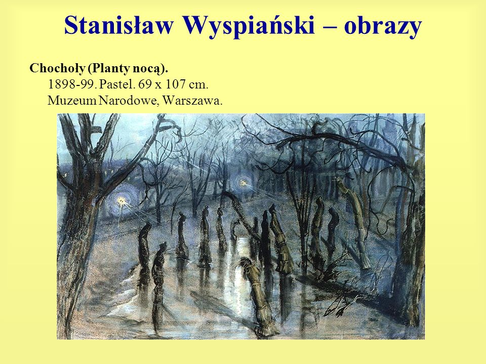 Stanisław Wyspiański – obrazy