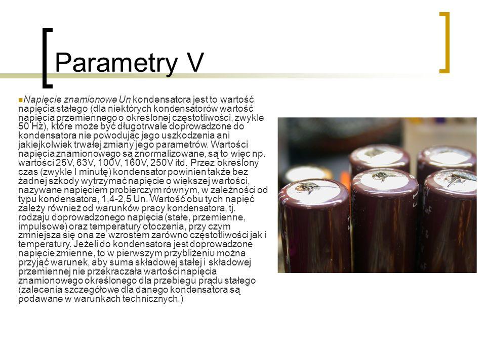 Parametry V