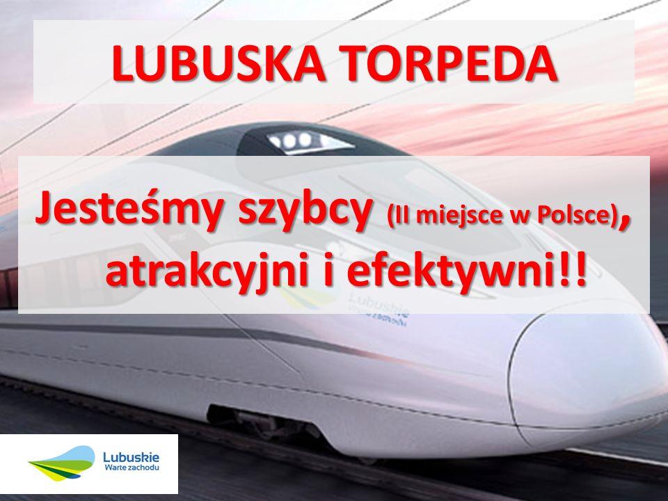 Jesteśmy szybcy (II miejsce w Polsce), atrakcyjni i efektywni!!