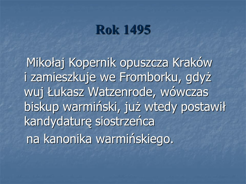 Rok 1495
