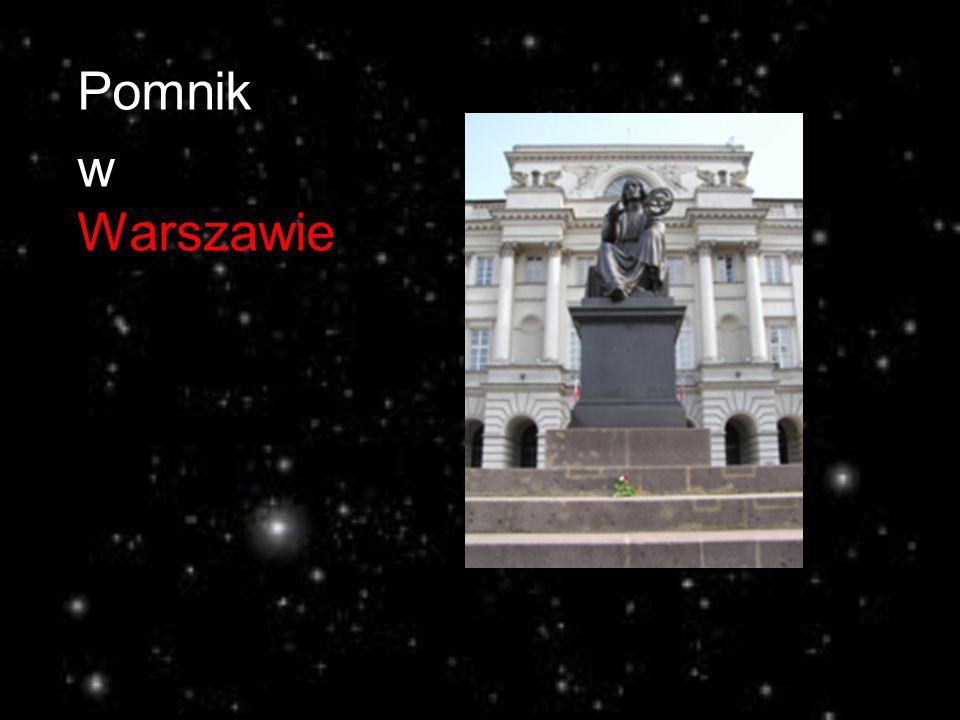 Pomnik w Warszawie