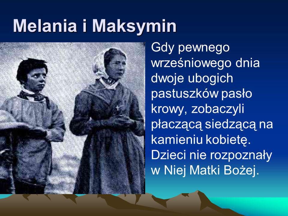Melania i Maksymin