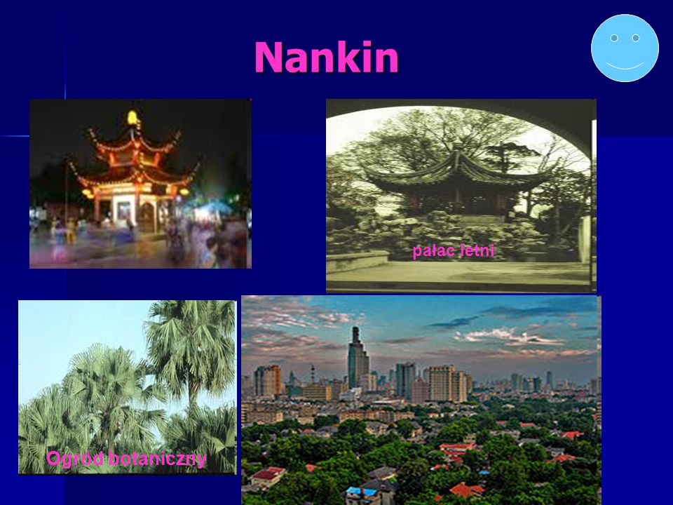 Nankin pałac letni Ogród botaniczny