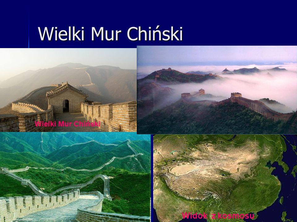Wielki Mur Chiński Wielki Mur Chiński Widok z kosmosu