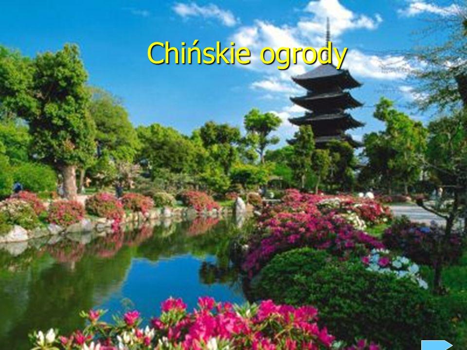 Chińskie ogrody