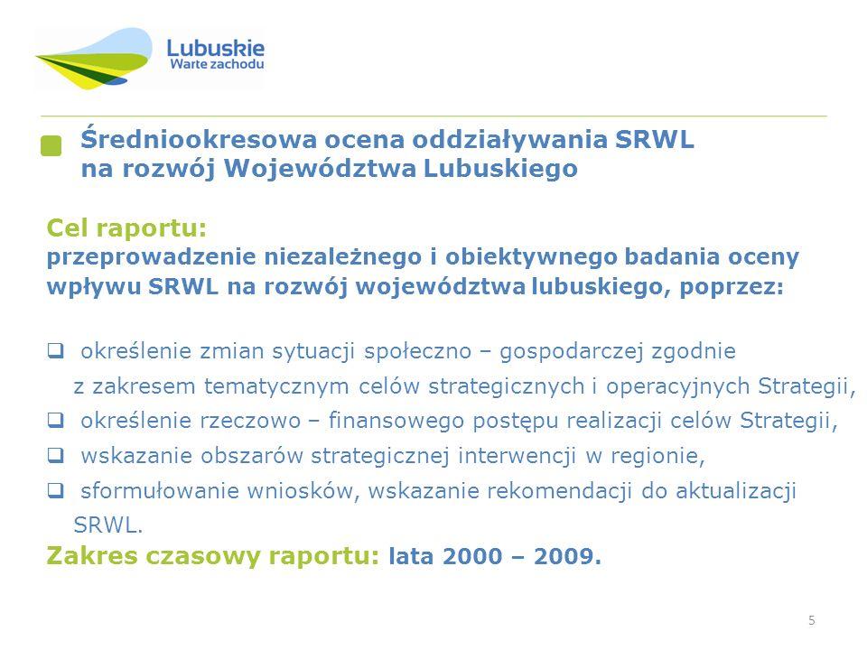 Zakres czasowy raportu: lata 2000 – 2009.