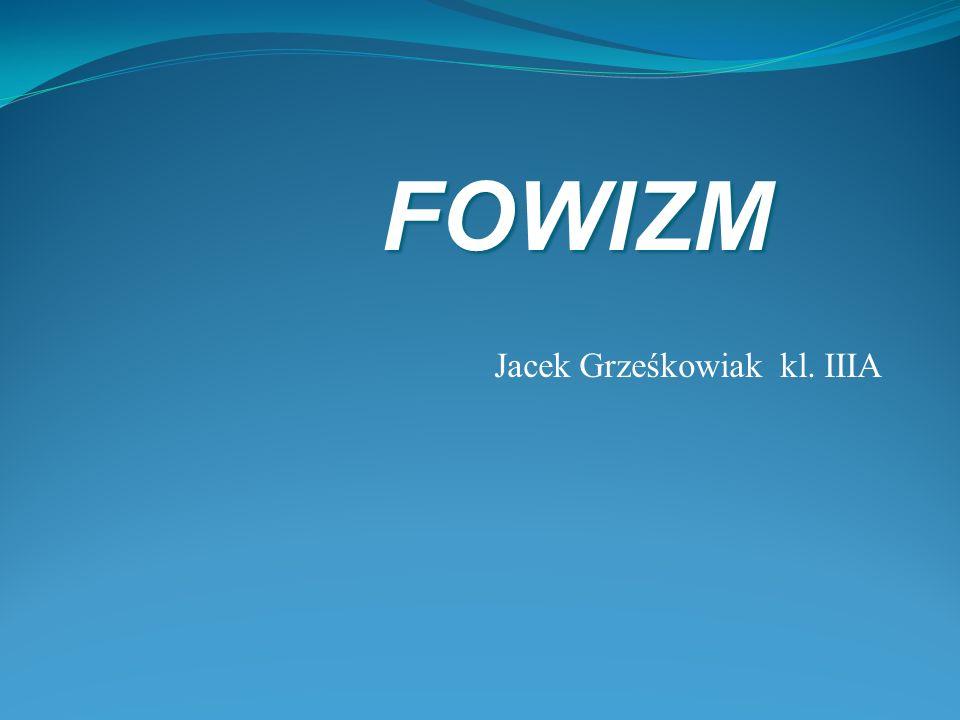 Jacek Grześkowiak kl. IIIA