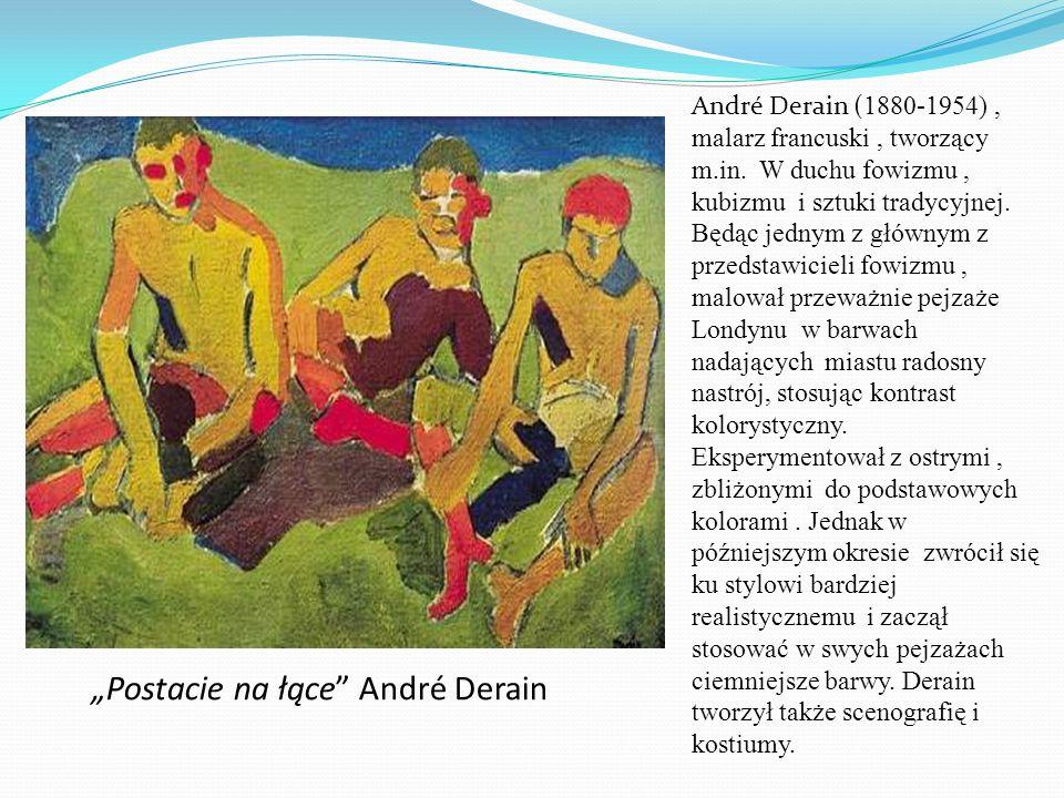 """Postacie na łące André Derain"