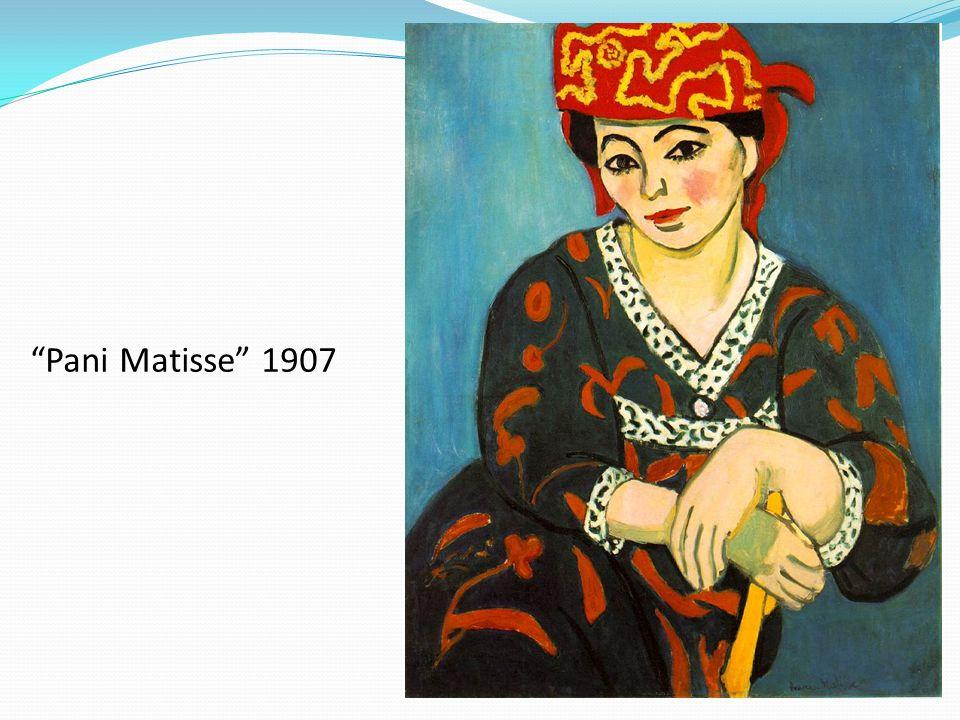 Pani Matisse 1907