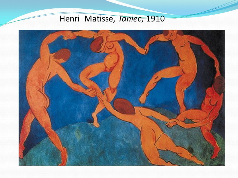 Henri Matisse, Taniec, 1910