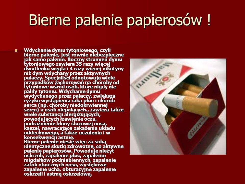 Bierne palenie papierosów !