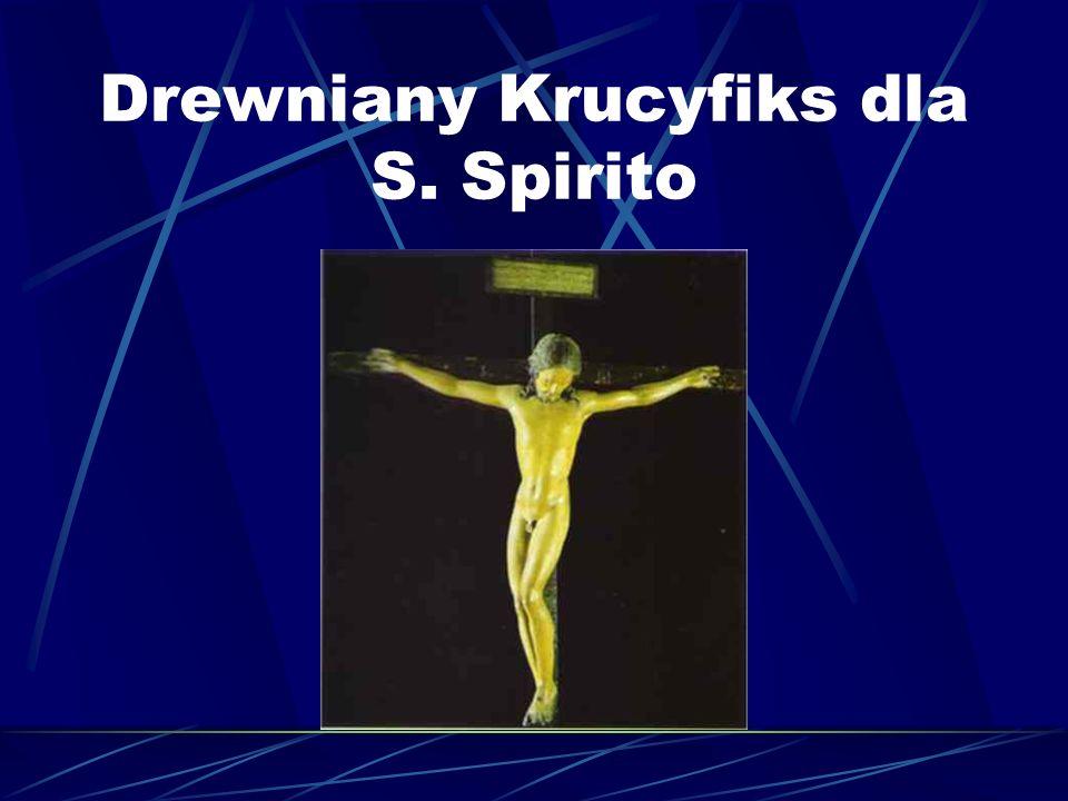 Drewniany Krucyfiks dla S. Spirito