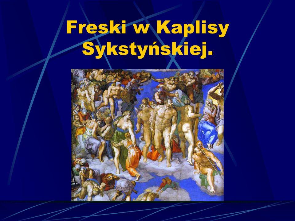 Freski w Kaplisy Sykstyńskiej.