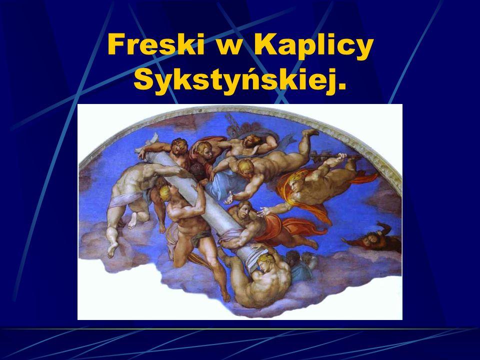 Freski w Kaplicy Sykstyńskiej.