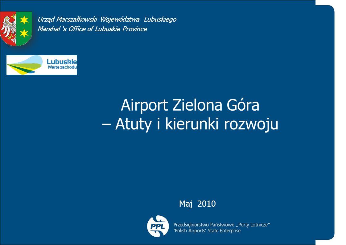 Airport Zielona Góra – Atuty i kierunki rozwoju
