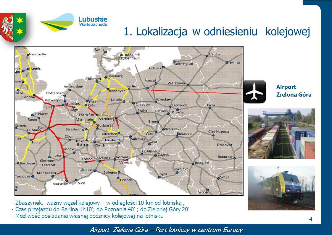 1. Lokalizacja w odniesieniu kolejowej