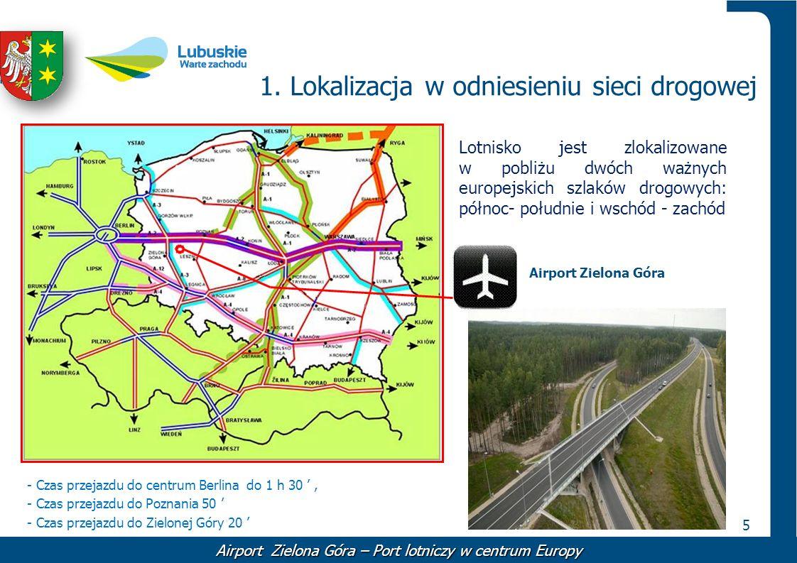 1. Lokalizacja w odniesieniu sieci drogowej