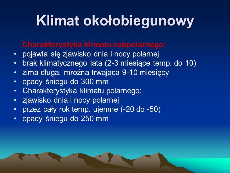 Klimat okołobiegunowy
