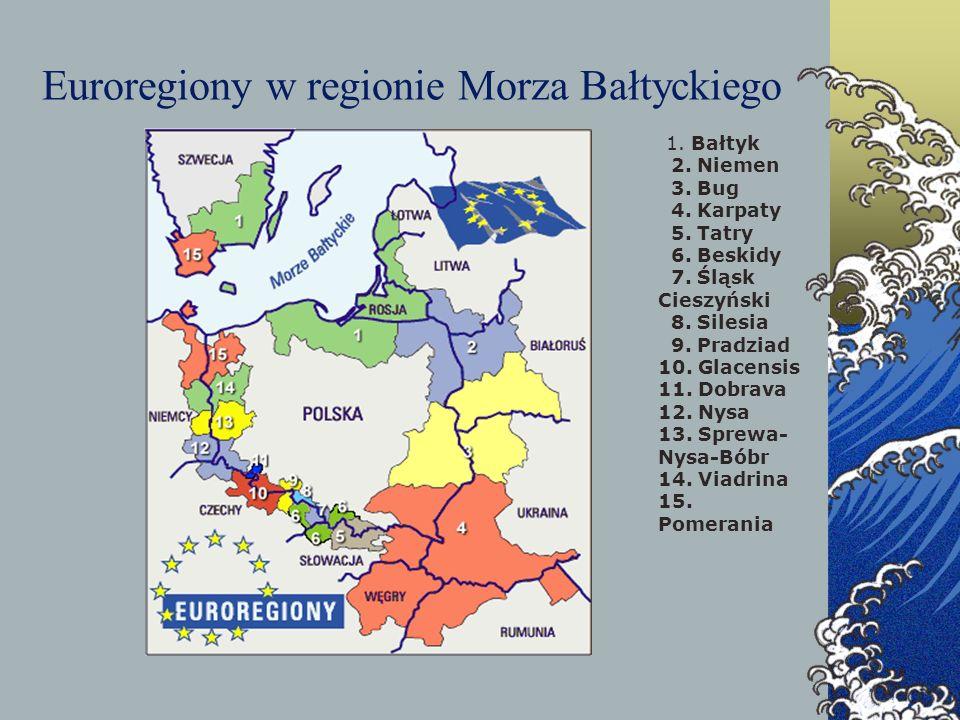 Euroregiony w regionie Morza Bałtyckiego