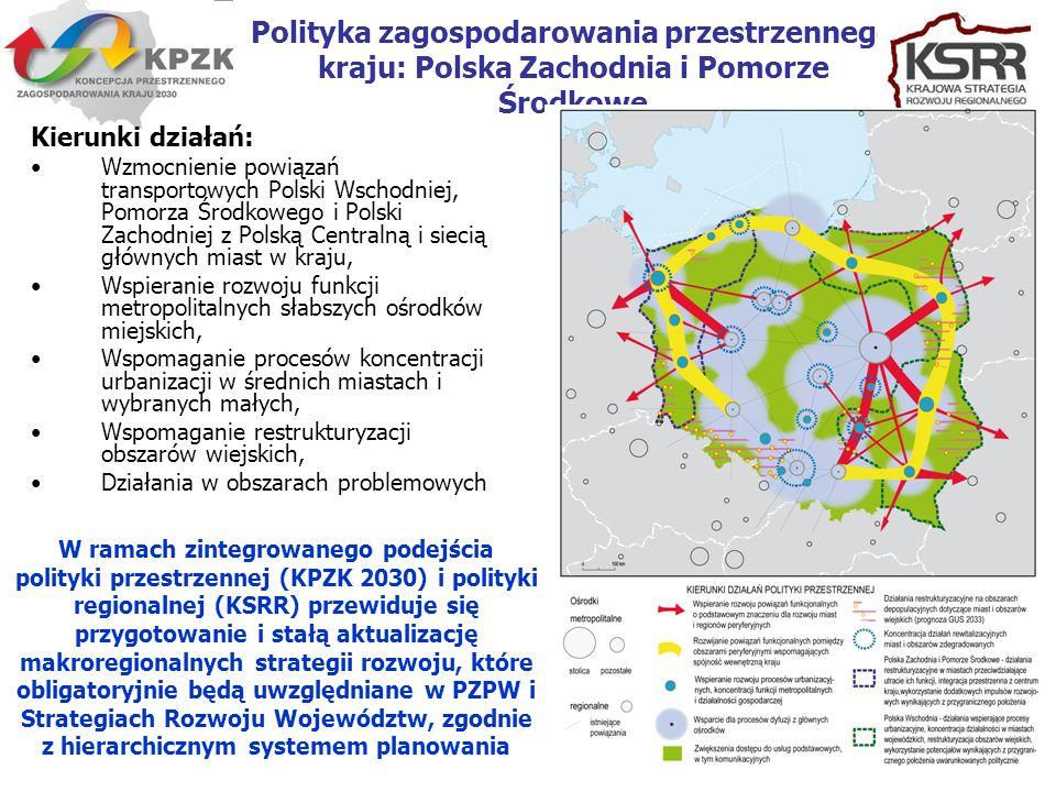 Polityka zagospodarowania przestrzennego kraju: Polska Zachodnia i Pomorze Środkowe