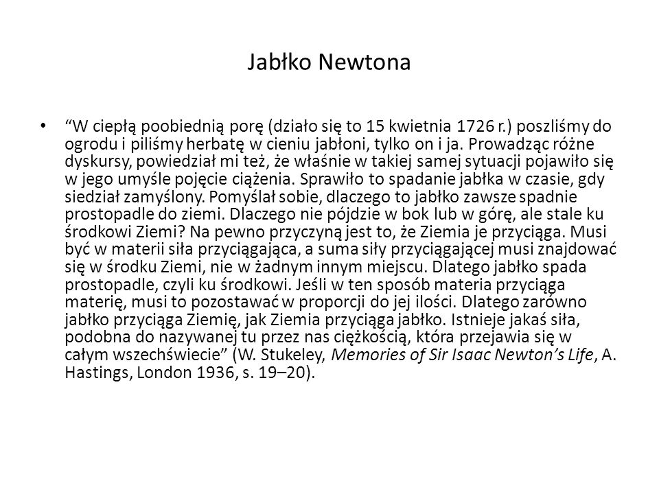 Jabłko Newtona